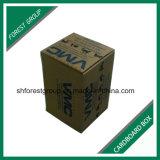 Caixa ondulada Foldable da caixa de Brown para o empacotamento das peças