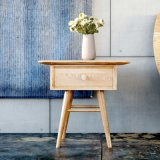 Table de nuit en bois de type simple (SCBT00001)