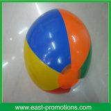Bola de playa inflable del PVC para hacer publicidad