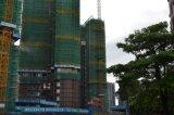 Hydraulischer Aufbau-Gebäude-Turmkran