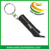 Факел Keychain электрофонаря металла СИД с консервооткрывателем бутылки