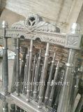 Штабелирующ стул Наполеон замока металла свадебного банкета гостиницы (JY-J10-1)