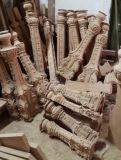 CNC, der die Drehmaschine schnitzt Maschinen-Holzbearbeitung-Maschine CNC-Fräser-Maschine prägt
