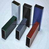 Tubo quadrato / tubo in alluminio estruso di colore diverso anodizzato