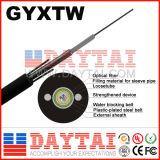 Cabo ótico do cabo GYXTW da fibra óptica do núcleo da alta qualidade 2-24