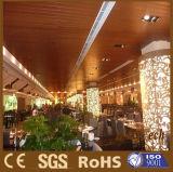 2017 plafond en plastique en bois de PVC du composé WPC de vente chaude pour la vente en gros