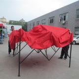 Haltbarer Stahl kundenspezifisches Drucken-abnehmbares bequemes bewegliches Pagode-Zelt