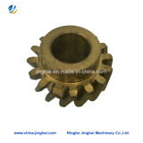 Auto Lathe OEM Brass Hydralic Machining Gear Parts for Transmission