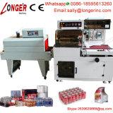 Machine automatique commerciale d'emballage en papier rétrécissable de la chaleur