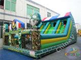 Aufblasbarer Militärspielplatz 2017 für Kinder