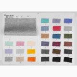 13s 45%Cotton 52%Linen 3%Spandexファブリック、二重あや織りのスパンデックスの麻布または綿織物
