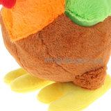 قوس قزح دجاجة لعبة قطيفة حيوان يحشى لعبة