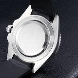 Edelstahl-automatische leuchtende Mann-Sport-Armbanduhr 72021