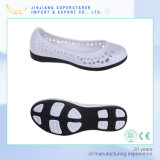 Santals Holey extérieurs élégants, chaussures de santals de femme d'EVA