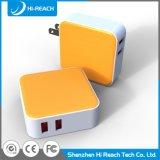 OEM 보편적인 두 배 포트 USB 이동 전화 여행 충전기