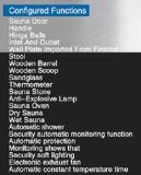 De Gecombineerde Sauna van het project Stoom voor Multi-Person (bij-8653)