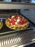 Spitzenkuchen-Muffin-fettdichtes Aluminiumfolie-Wegwerfbacken-Tellersegment