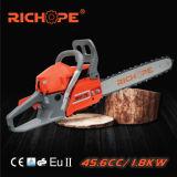 Chainsaw газолина автомата для резки CS4680 вала инструментов сада мощный