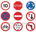 주문 고품질 도로 및 교통 표지