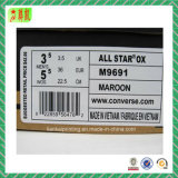 Etiqueta engomada de papel para empaquetar con la insignia modificada para requisitos particulares impresa