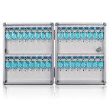 Der 32 Schlüssel-Kasten-Schrank befestigen Wand-Montierungs-Kombinations-Aluminium