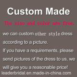 Bördeln Brautkleid-des roten Tulle-Abschlussball-Partei-Abend-Kleides M46