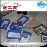 Ungemahlener Block des zementierten Karbid-K20 mit verschiedenen Formen auf halb maschinell bearbeiten