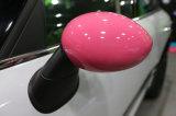 Cubierta protegida ULTRAVIOLETA plástica del espejo de la cara del reemplazo de 2014 del más nuevo modelo mini de Hardtop ABS rosados puros del color para Mini Cooper F56 F55