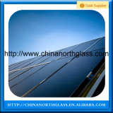 3.2/4mm 낮은 철 Tempered 태양 전지판 유리