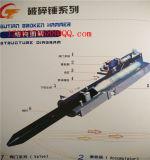 Máquina rota eléctrica del taladro de las piezas del martillo de la herramienta de mano