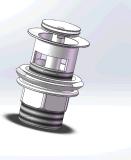 Нов конструировано хлопните вверх отход раковины (T1003-E)