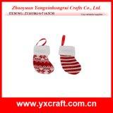 Material de la decoración del catálogo de la media del árbol de navidad de la decoración de la Navidad (ZY14Y590-1-2)