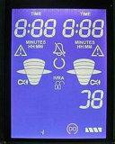 Blaue Transmissive LCD Bildschirmanzeige Moduel des LCD-Stn Zeichen-3X16