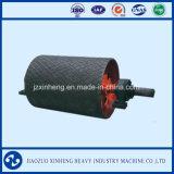 Резиновый покрытием Конвейер роликовый для машины ленточного конвейера