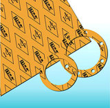Asbest-vrije RubberPakkingen 3200 van het Blad