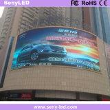 Tablilla de anuncios comercial de LED de la guía exterior de las compras