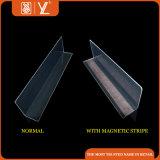 Divisore di plastica libero della mensola con la striscia magnetica