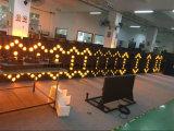 소통량 콘을%s 호주 LED 방향 화살 빛 교통 표지