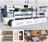 Nueva máquina que corta con tintas cortada con tintas de la hoja 2017 del sello de la prensa caliente de la impresora