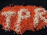 RP3097 het Thermoplastische Rubber van de Grondstof van de kleur voor de Schacht van de Tandenborstel