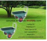 Carrinho de mão de roda do reboque do jardim da construção de três rodas