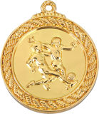 Médaillon de récompense d'allumette de football