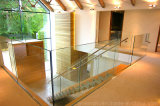 좋은 가격 받침을%s 가진 최고 명확한 Glasss Frameless 강화 유리 방책 또는 유리 난간