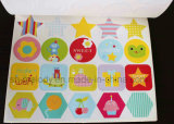 Libro de etiqueta decorativa de papel de dibujos animados lindo