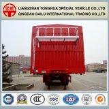 3-Axles 40FT hoher seitlicher Zaun-halb Hochleistungsschlußteil
