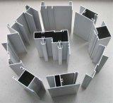 Profil conçu spécial d'aluminium d'extrusion de section de guichet en aluminium