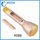 K088 Mini Player Alto-falante Bluetooth Microfone sem fio para Karaoke