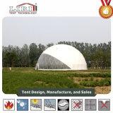 tenda della cupola di bianco di 25m con il tessuto del PVC per i partiti e gli eventi esterni