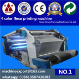 4 colore High Speed Flexographic Printing Machine per i pp Woven con Ceramic Anilox