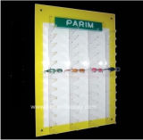 Wholesaleacrylic는 색안경 전시 Btr E1048를 벽 거치한다